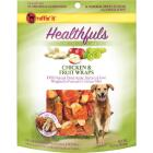 Ruffin' it Healthfuls Chicken & Fruit Flavor Chewy Dog Treat, 1 Lb. Image 1